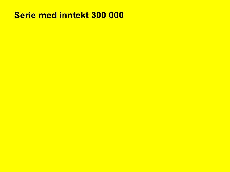 Serie med inntekt 300 000