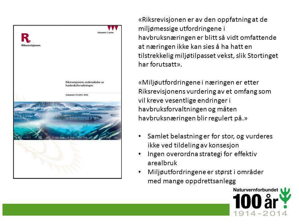 Utfordringar: Lus Rømming Forureining Næringssalt Kjemikalier Sjukdommar Fòr Dyrevelferd Arealbruk