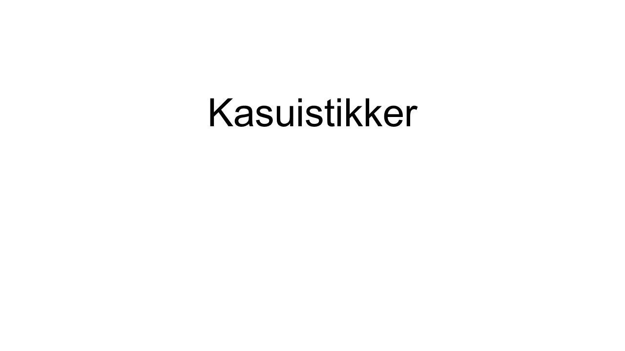 Kasuistikker