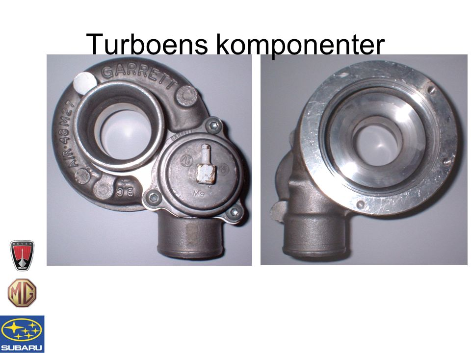 Turboens komponenter