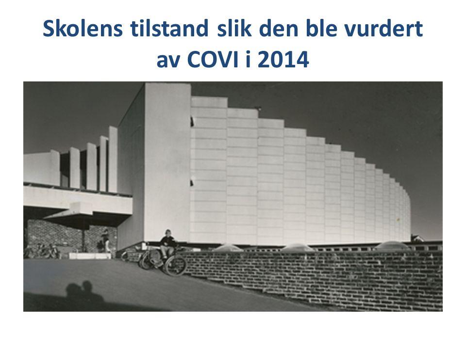 Skolens tilstand slik den ble vurdert av COVI i 2014