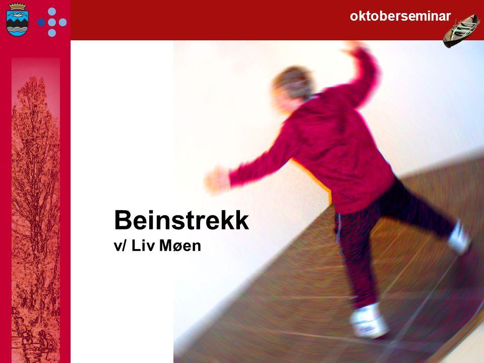 Beinstrekk v/ Liv Møen oktoberseminar