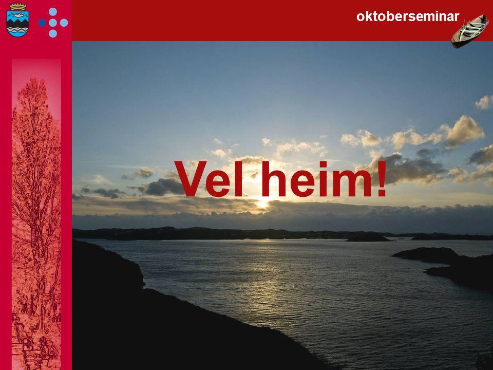 oktoberseminar Vel heim!