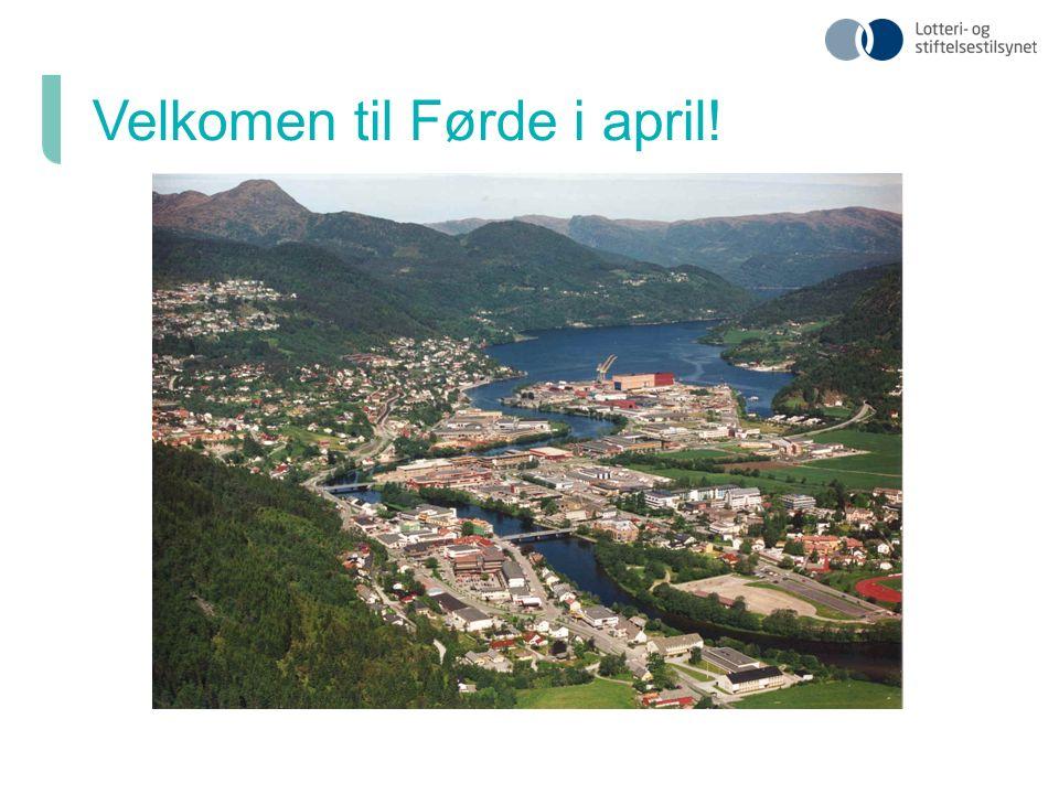 Velkomen til Førde i april!