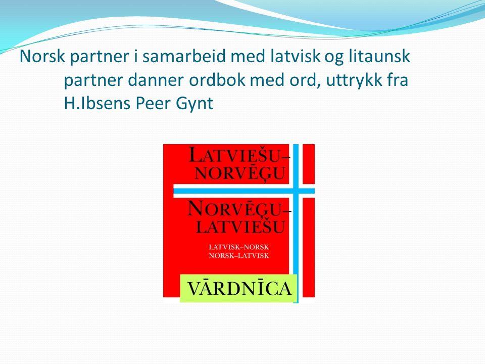 Forskning av H.Ibsens Peer Gynt påvirkning i literatur, musikk, kunst