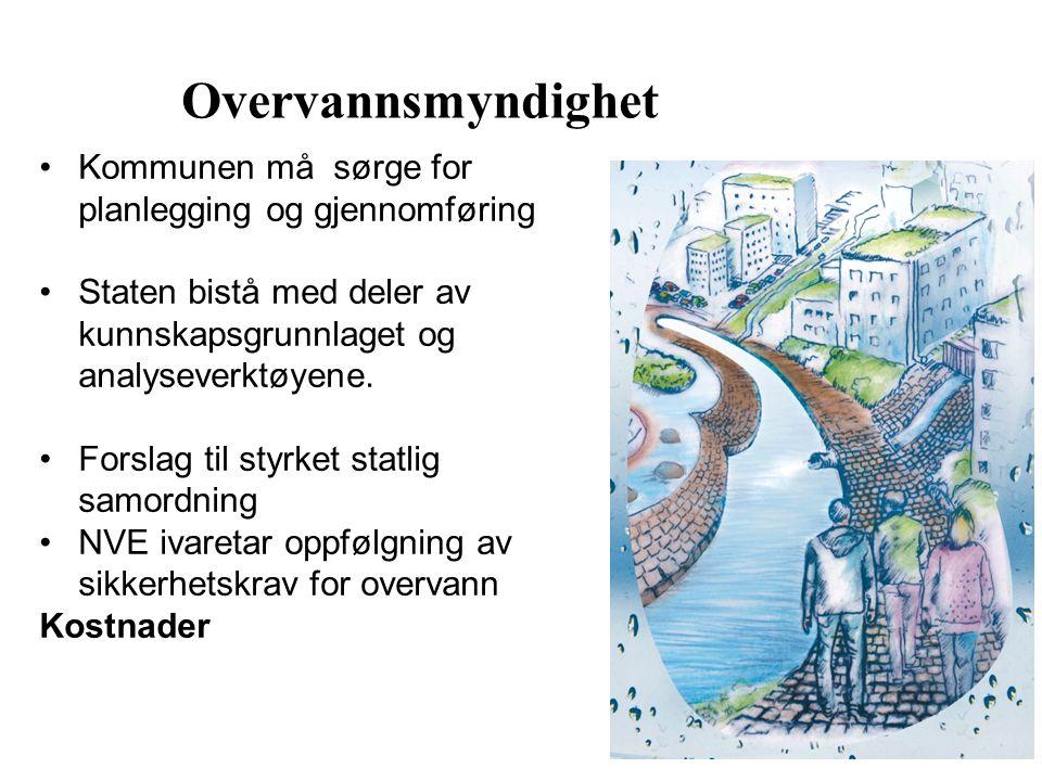Kommunen må sørge for planlegging og gjennomføring Staten bistå med deler av kunnskapsgrunnlaget og analyseverktøyene. Forslag til styrket statlig sam