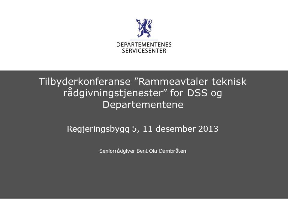 Departementenes servicesenter Norsk mal: Sluttside Tips bildekreditering: Alle bilder brukt i presentasjonen må krediteres for eksempel slik: Slide nr