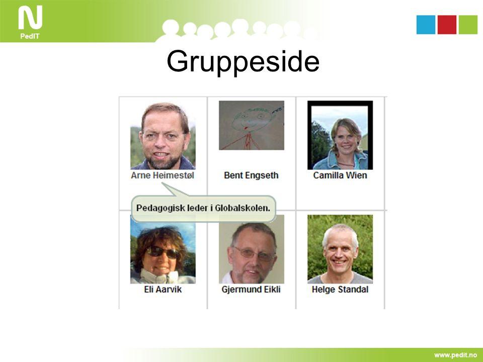 Gruppeside