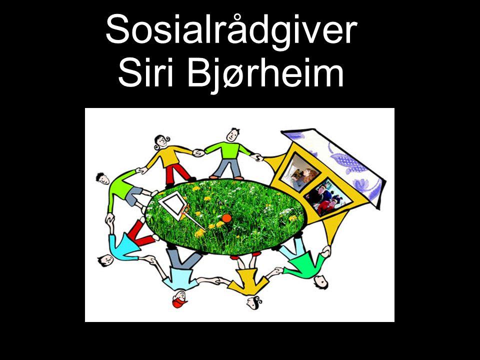 Sosialrådgiver Siri Bjørheim