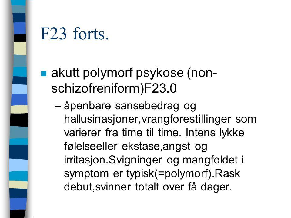 F23 forts.