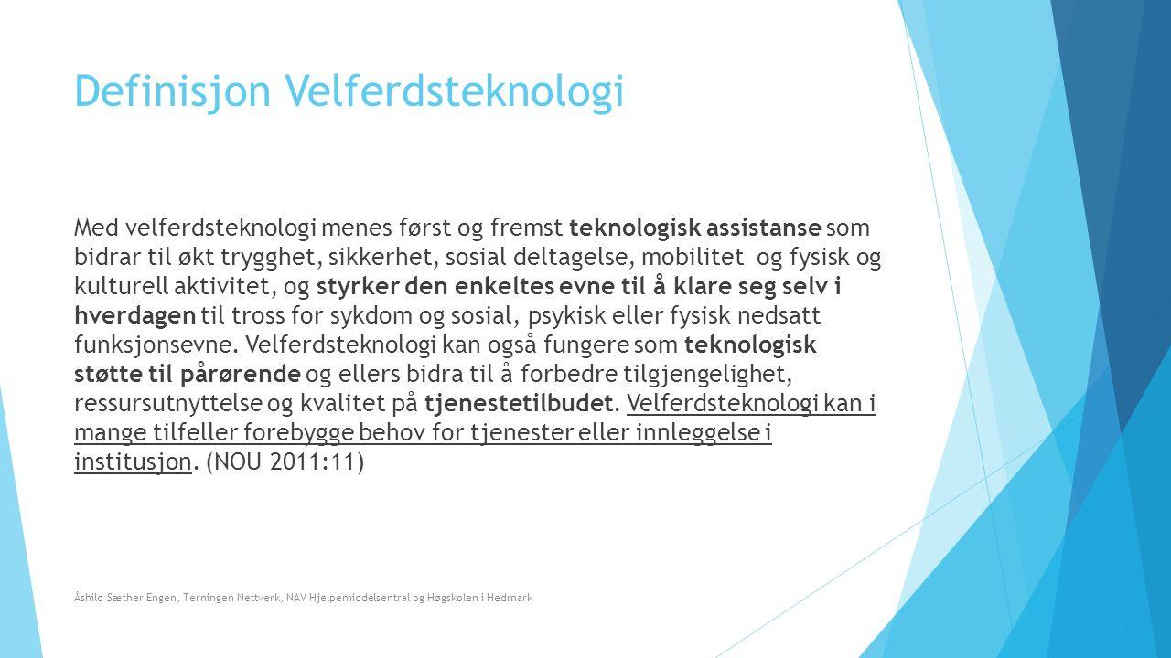 Film: Morgendagens omsorg  https://youtu.be/6sFBG2B3Sx8 Åshild Sæther Engen, Terningen Nettverk, NAV Hjelpemiddelsentral og Høgskolen i Hedmark