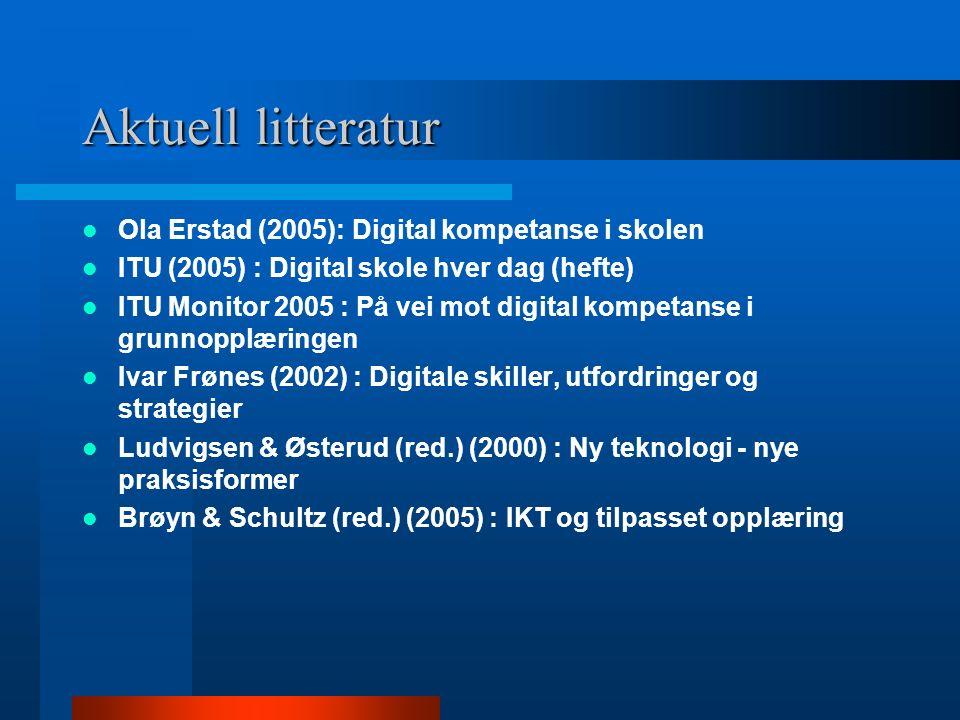"""Konklusjon …..""""Ut ifra ITU Monitors dokumentasjon av skolens digitale tilstand kan ikke læreplanens mål om bruk av digitale verktøy gjennomføres i sto"""