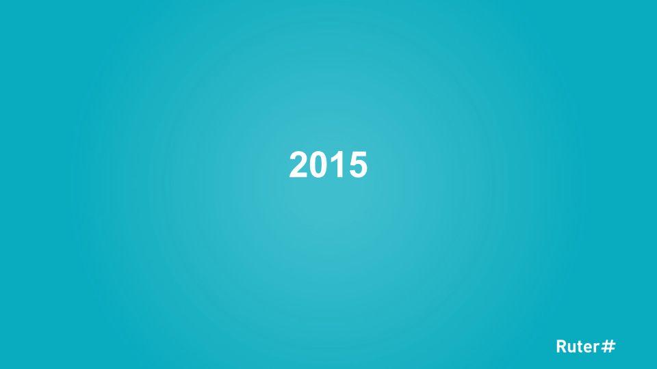 Ambisiøst mål og målet nås i januar 2016 Mål om å løfte andel betalende passasjerer til 95% virker uoppnåelig på starten av 2015 Full mobilisering i Ruter for å sikre måloppnåelse, alle tiltak vurderes og nye tiltak iverksettes Tett og godt samarbeid med operatørene for å vurdere og utnytte alle muligheter Målet om 95% betalende passasjerer nås i januar/februar 2016 takket være fullt fokus hos operatører og hos Ruter Vi ser positiv utvikling på alle driftsarter