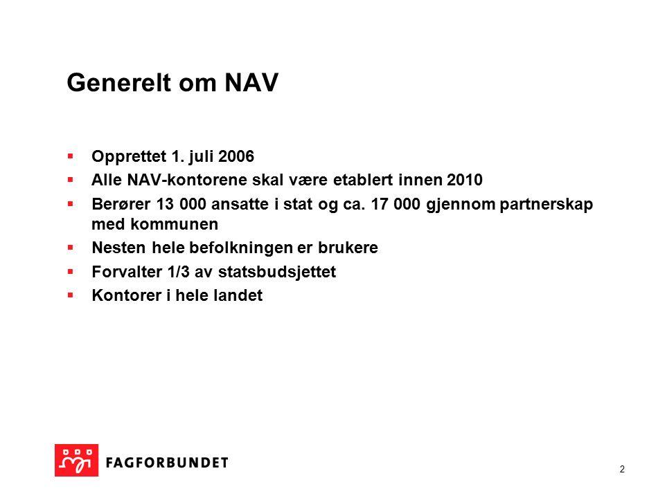 1 FAGFORBUNDET Kompetanseutvikling for ansatte på NAV kontor