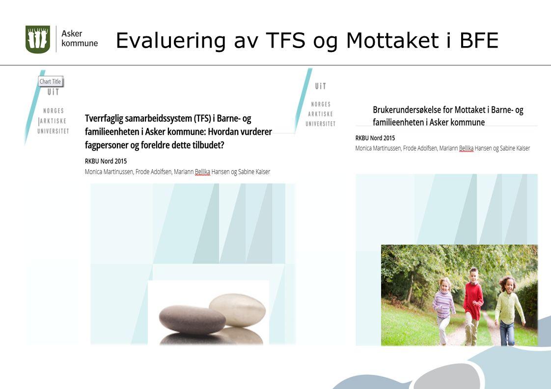 Evaluering av TFS og Mottaket i BFE
