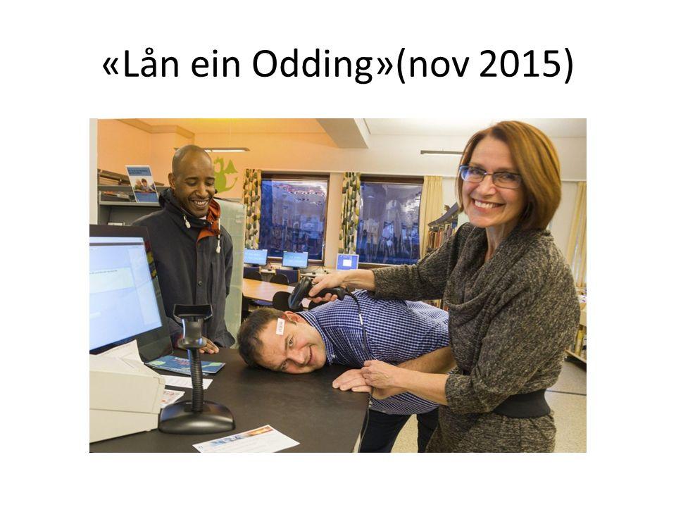 «Lån ein Odding»(nov 2015)