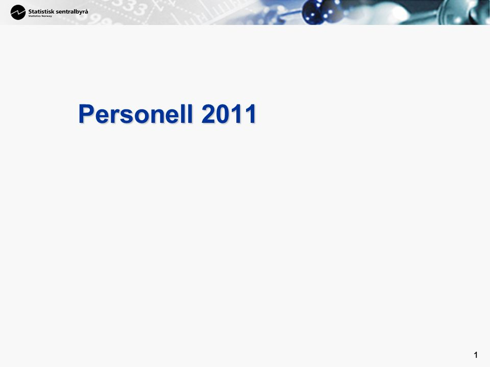 1 1 Personell 2011