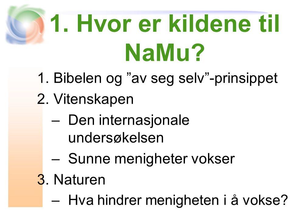 1.Hvor er kildene til NaMu.