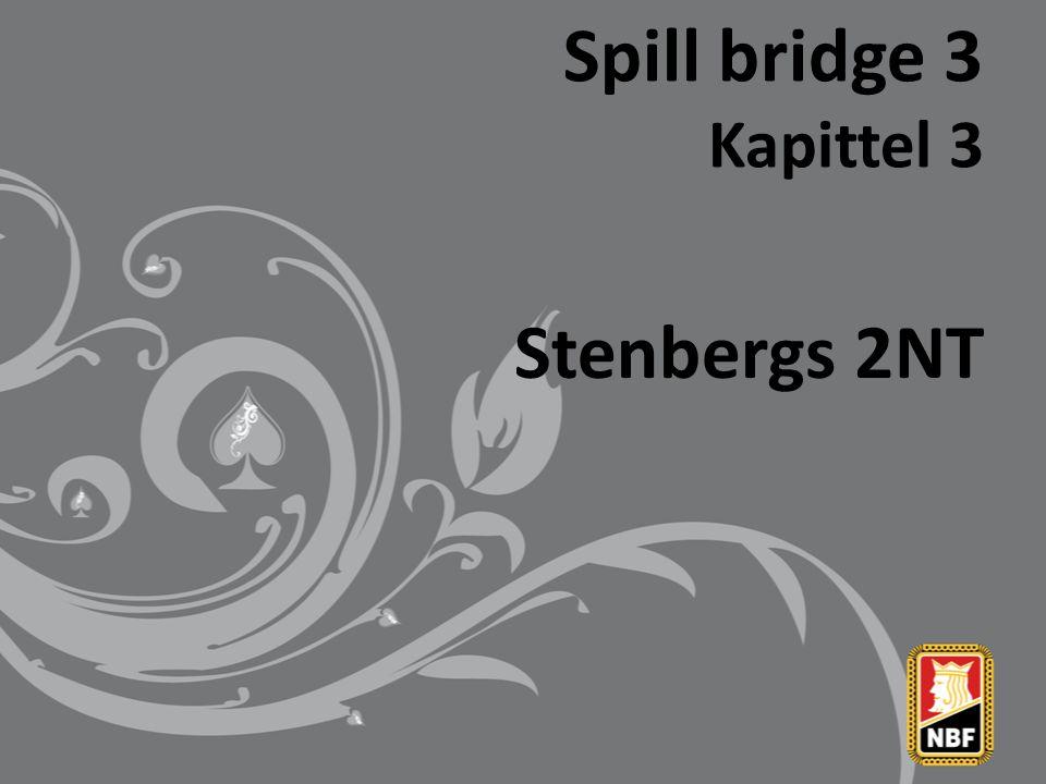 Stenbergs 2NT Noen meldeeksempler forts.