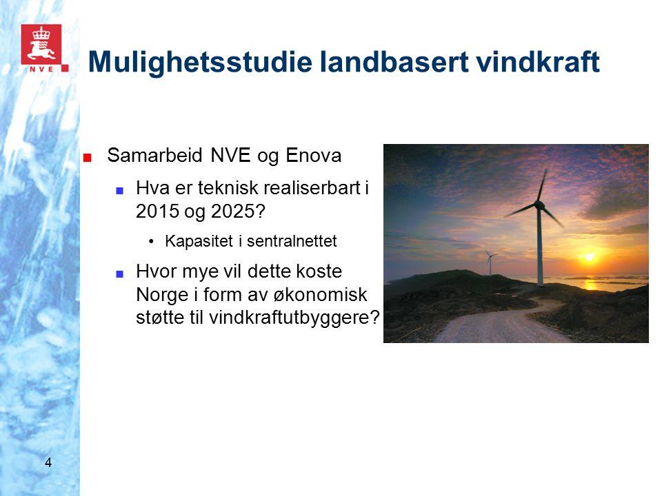 5 Landbasert vindkraft ■ Totalt 14 650 MW er til behandling eller er tildelt konsesjon uten å være realisert ■ 13 300 MW til behandling ■ 1 350 MW tildelt konsesjon/ til klagebehandling