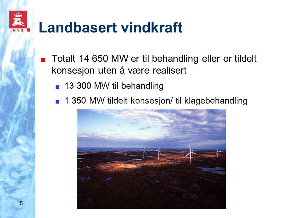 6 Resultater mulighetsstudie ■ Total vindkraftutbygging mot 2025: 5 800 MW – 7150 MW ■ 2008 - 2015: mellom 4 200 MW og 4 700 MW ■ 2015 - 2025: mellom 1 600 MW og 2 450 MW ■ Totalt 2 000 – 2 500 vindturbiner ■ Danmark 5 300 turbiner ■ Tyskland 15 000 turbiner ■ Støttekostnad i form av statsavsetning i 2008: ■ 24 – 29 mrd kroner