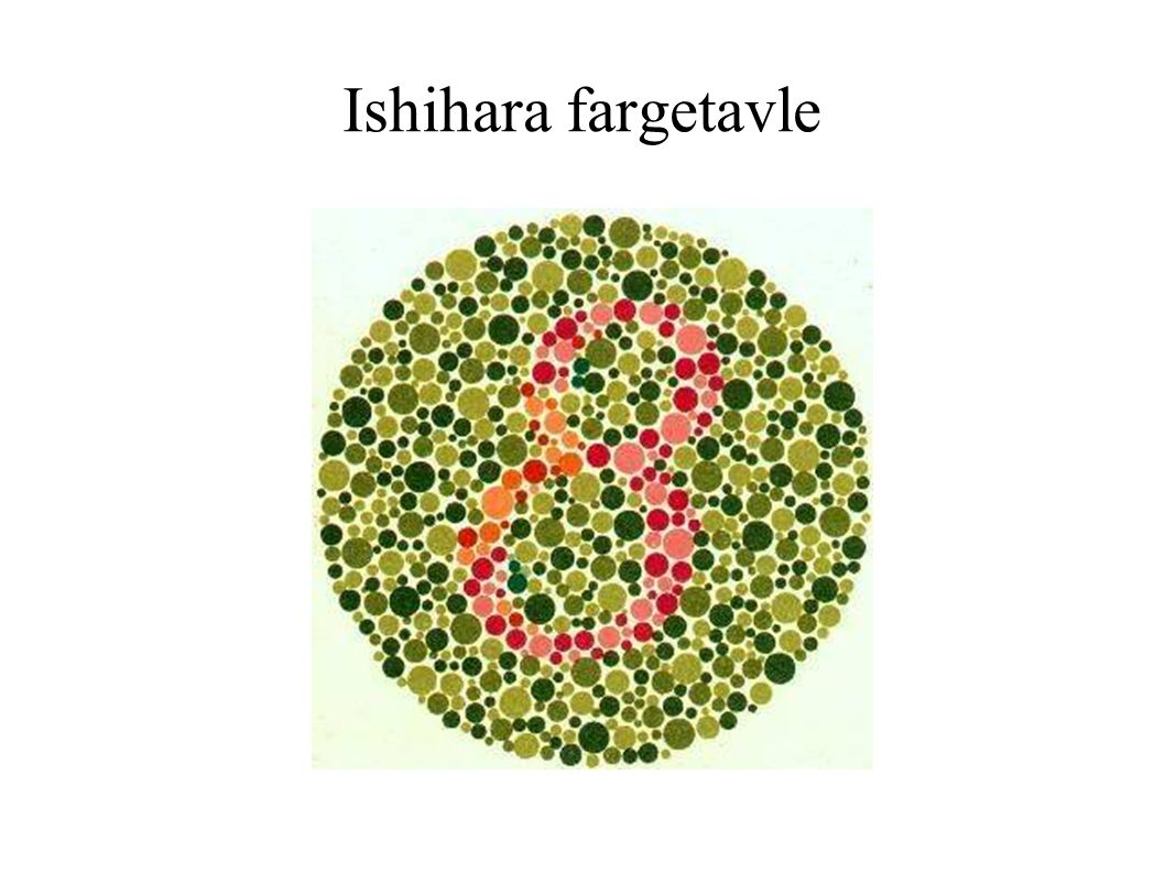 Ishihara fargetavle