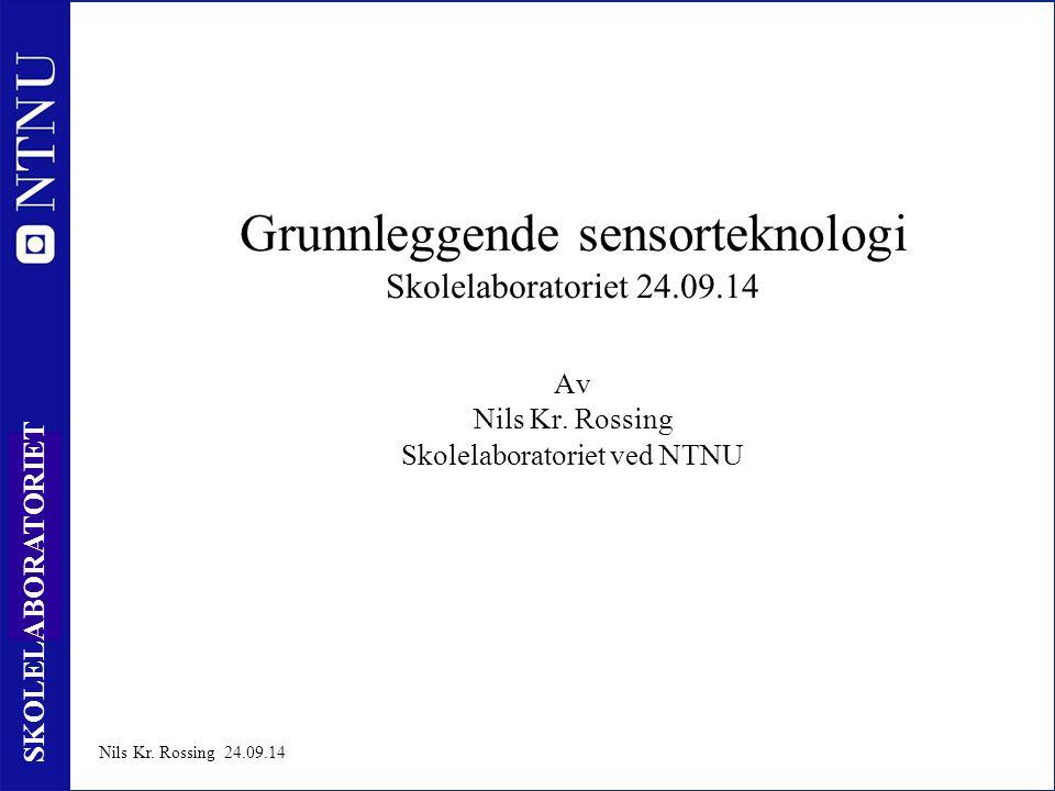 1 SKOLELABORATORIET Nils Kr.
