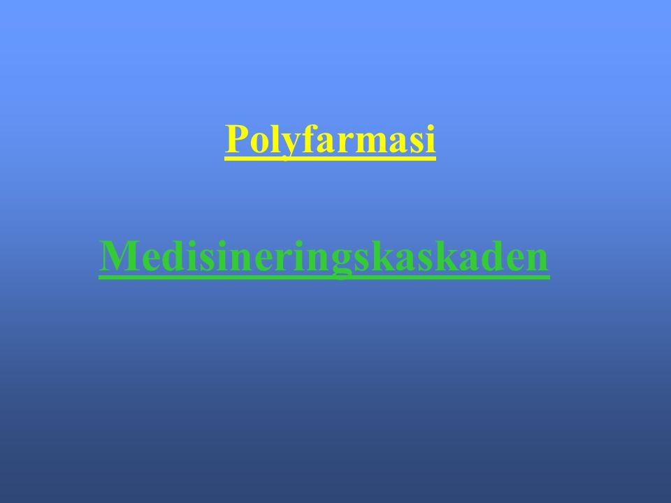 Polyfarmasi Medisineringskaskaden
