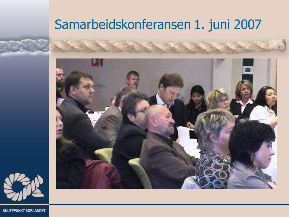 Samarbeidskonferansen 1. juni 2007