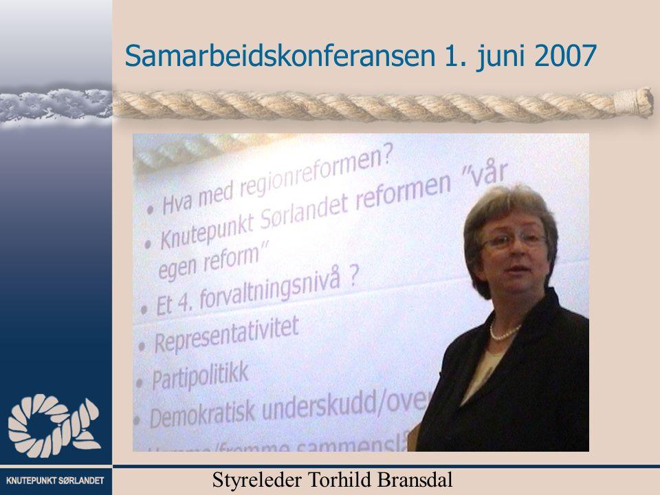 Styreleder Torhild Bransdal