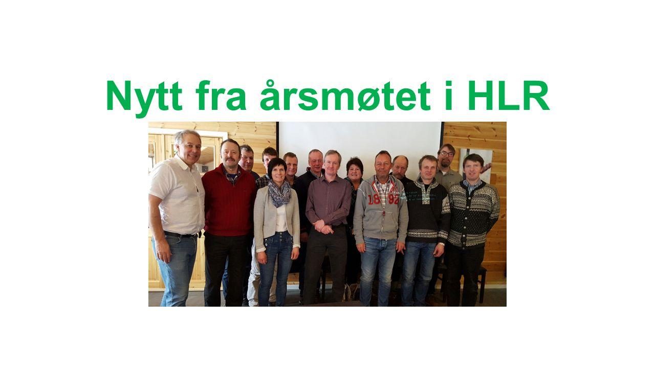 Nytt fra årsmøtet i HLR