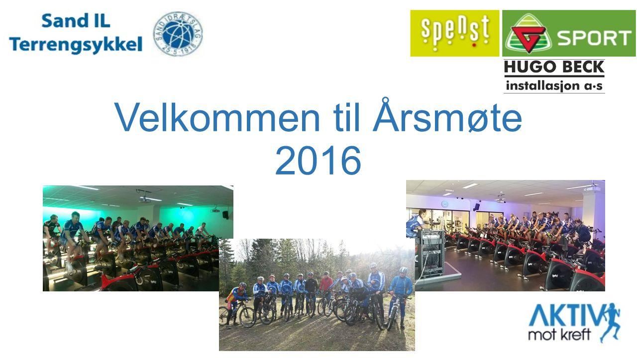 Velkommen til Årsmøte 2016