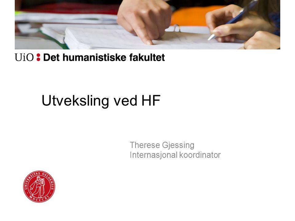 Utveksling ved HF Therese Gjessing Internasjonal koordinator