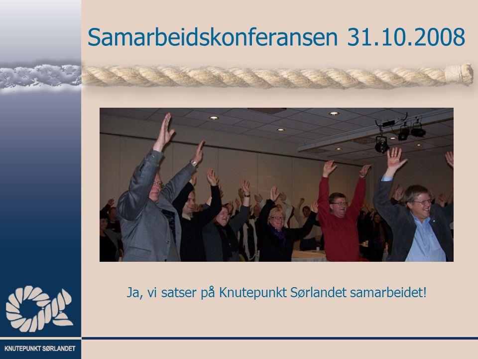 Samarbeidskonferansen 31.10.2008 Konferaniser, HTV Unio og medlem av arbeidsutvalget Ottar Stordal