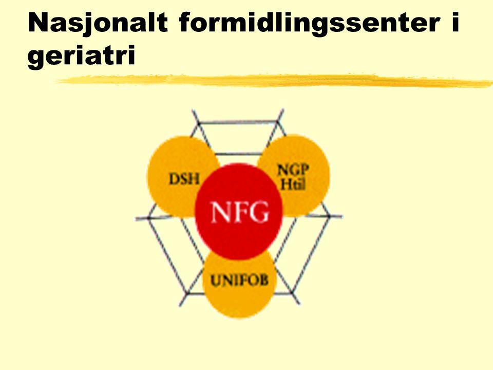 Nasjonalt formidlingssenter i geriatri