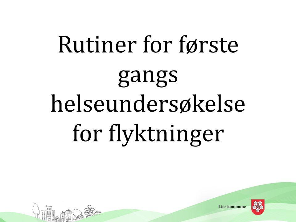 Flyktningtjenesten i Lier kommune Lier kommune har bosatt flyktninger siden tidlig på 80-tallet.
