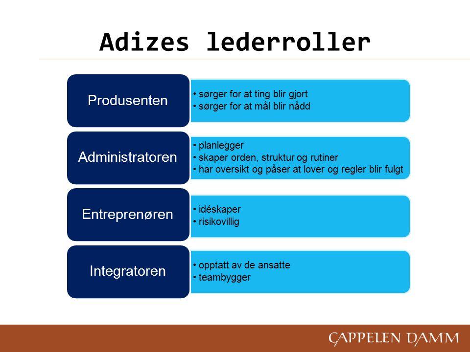 Effektiv ledelse Fundamentet i effektiv ledelse er å tenke gjennom organisasjonens formål (mission), definere det og gjøre det klart og tydelig.