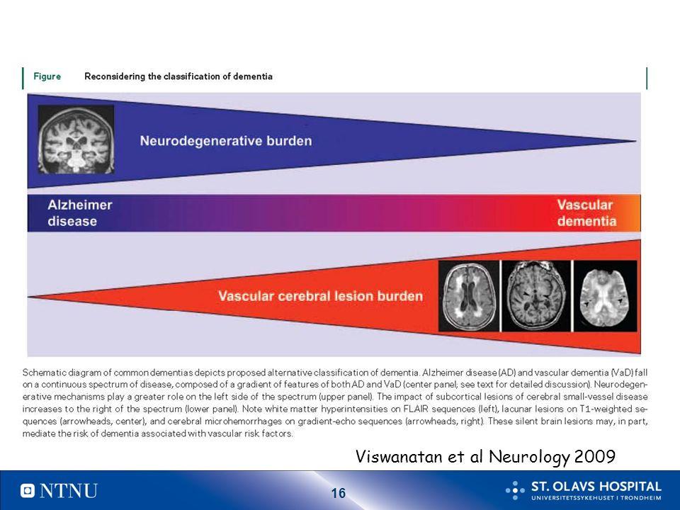 16 Viswanatan et al Neurology 2009