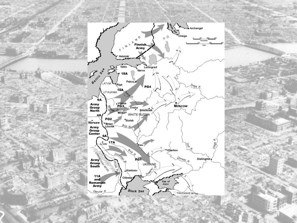 Forsinkelsene på BALKAN førte til at angrepet på Sovjetunionen (Operation Barbarossa) først begynte 22.