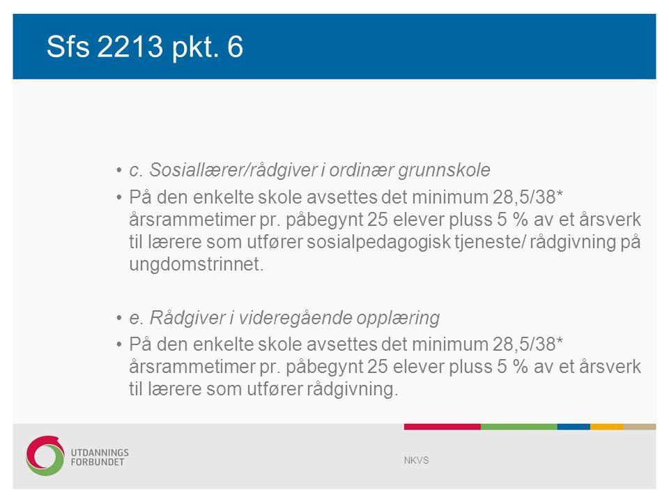 Sfs 2213 pkt. 6 c.