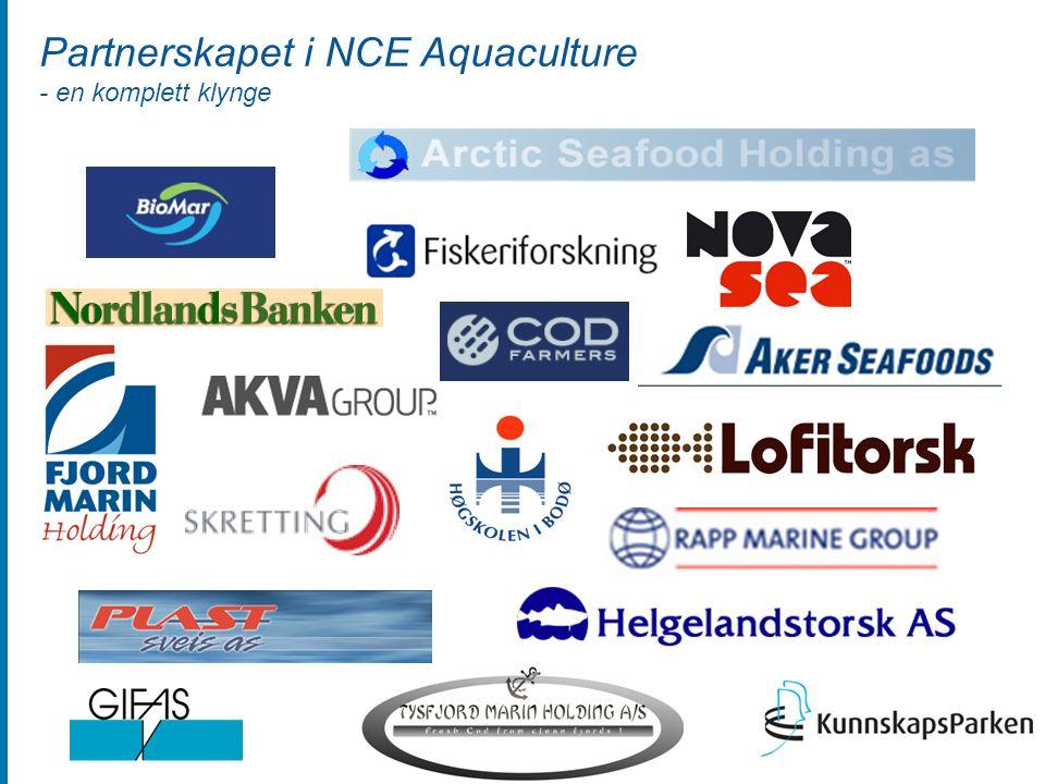 Partnerskapet i NCE Aquaculture - en komplett klynge