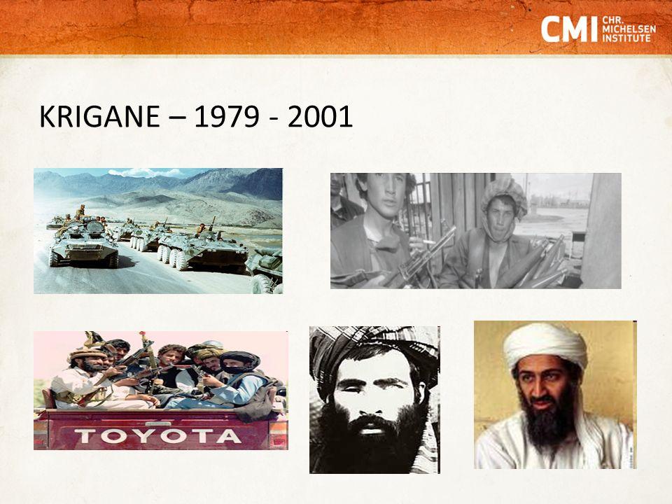 KRIGANE – 1979 - 2001