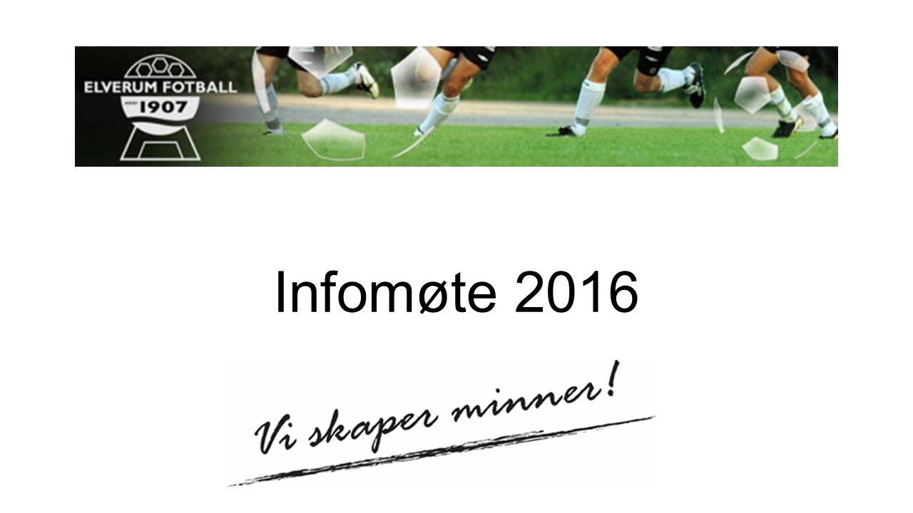 Agenda Kick-off Amfi - medlemskort Dugnader Kamp- og dommeroppsett Mottak av andre lag Sport og organisering barnefotball Prøving av tøy Utdeling av lagsbager