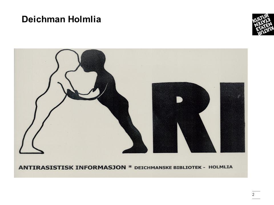 2 Deichman Holmlia