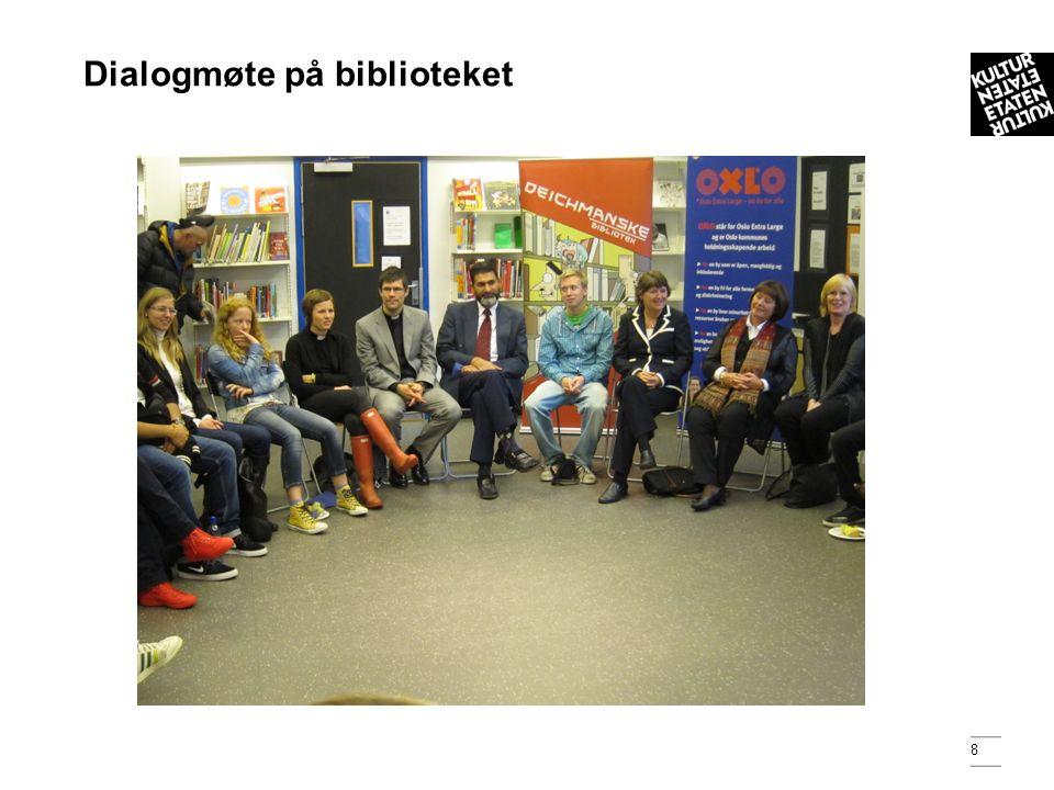 9 Kunnskapsminister Kristin Halvorsen var blant deltakerne på Dialogmøtet.