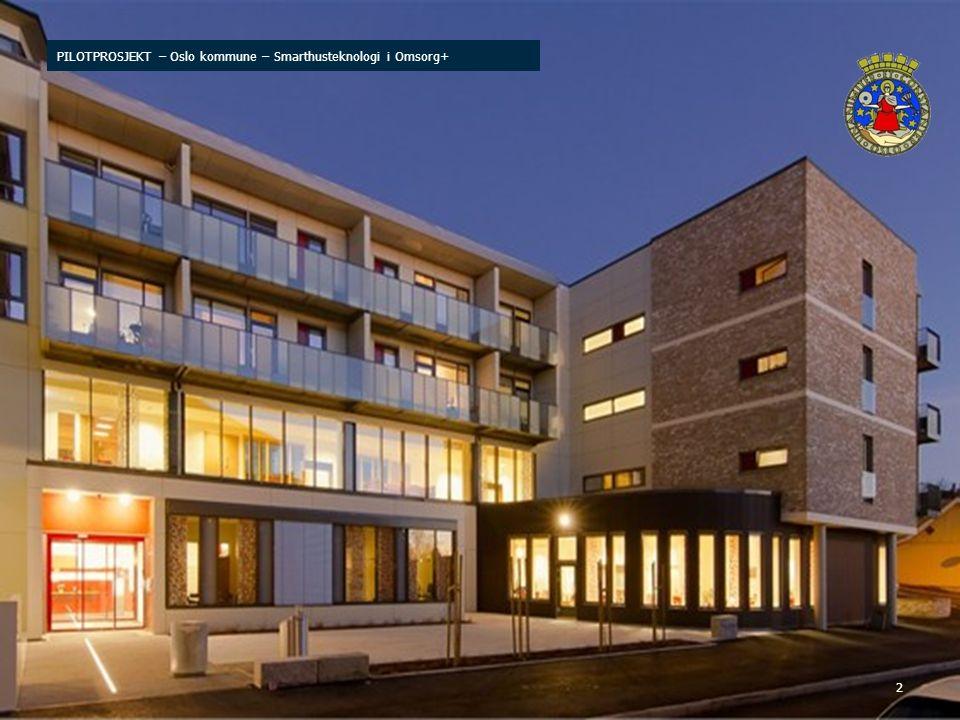 2 PILOTPROSJEKT – Oslo kommune – Smarthusteknologi i Omsorg+