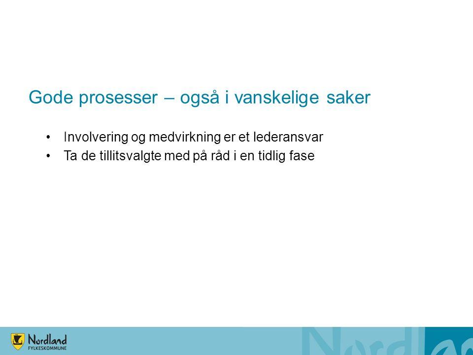 Utvikling antall 16 – 18 åringer i Nordland