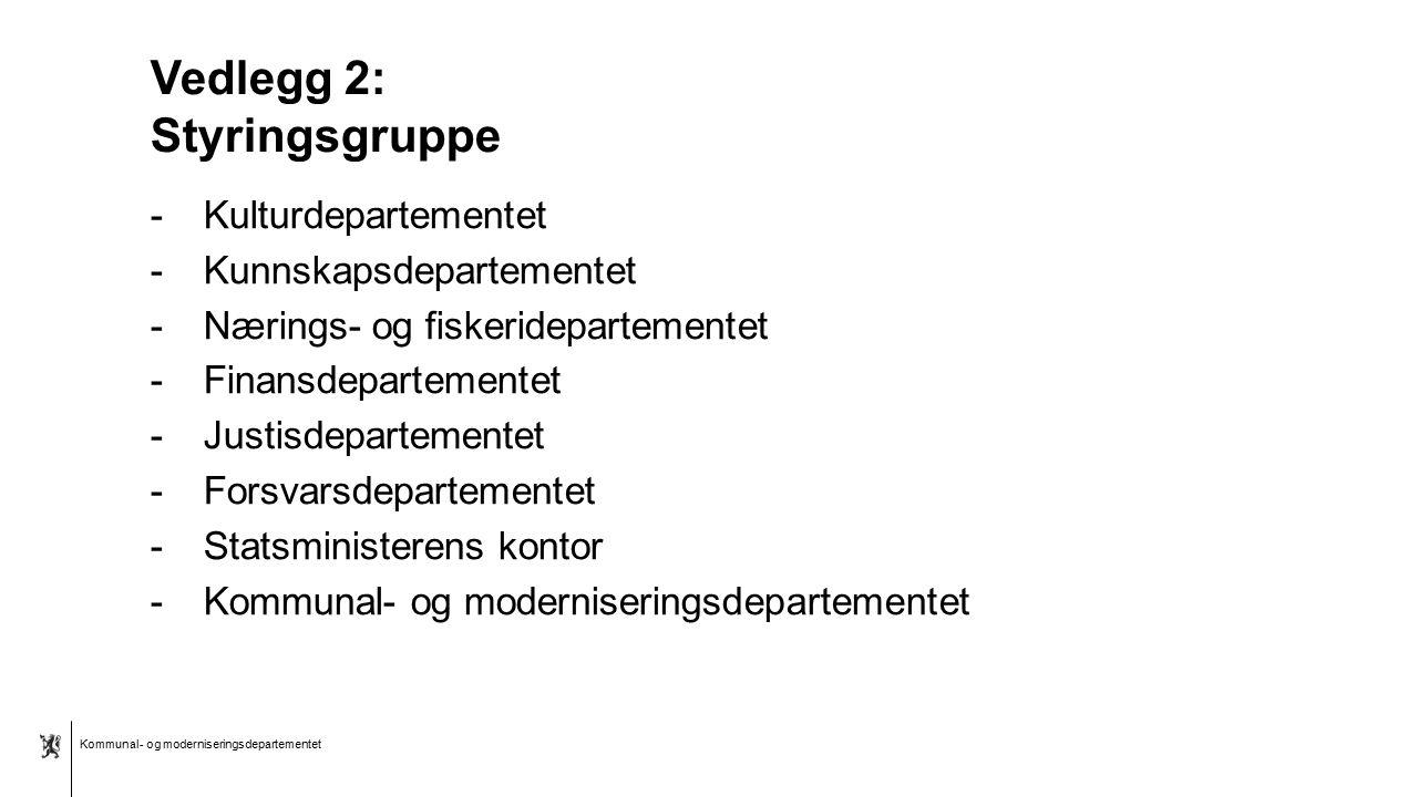 Kommunal- og moderniseringsdepartementet Bokmål mal: Tekst uten kulepunkter Tips bunntekst: For å få sidenummer, dato og tittel på presentasjon: Klikk