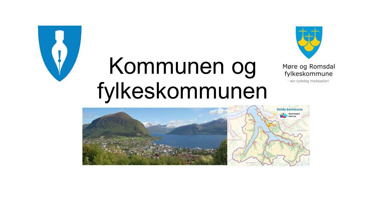Kommunen og fylkeskommunen