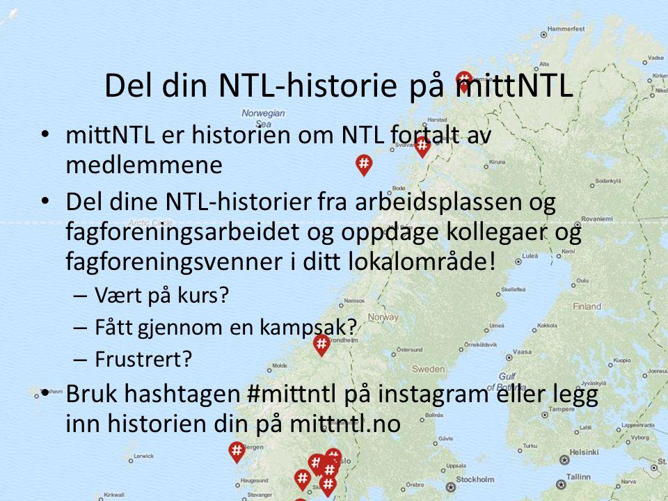 Kanskje er det flere NTL- organiserte virksomheter enn du var klar over i ditt nærområde, med spennende og hyggelige medlemmer og tillitsvalgte.
